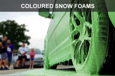 Coloured Snow Foam Alien Magic Luxembourg Luxury Car Care