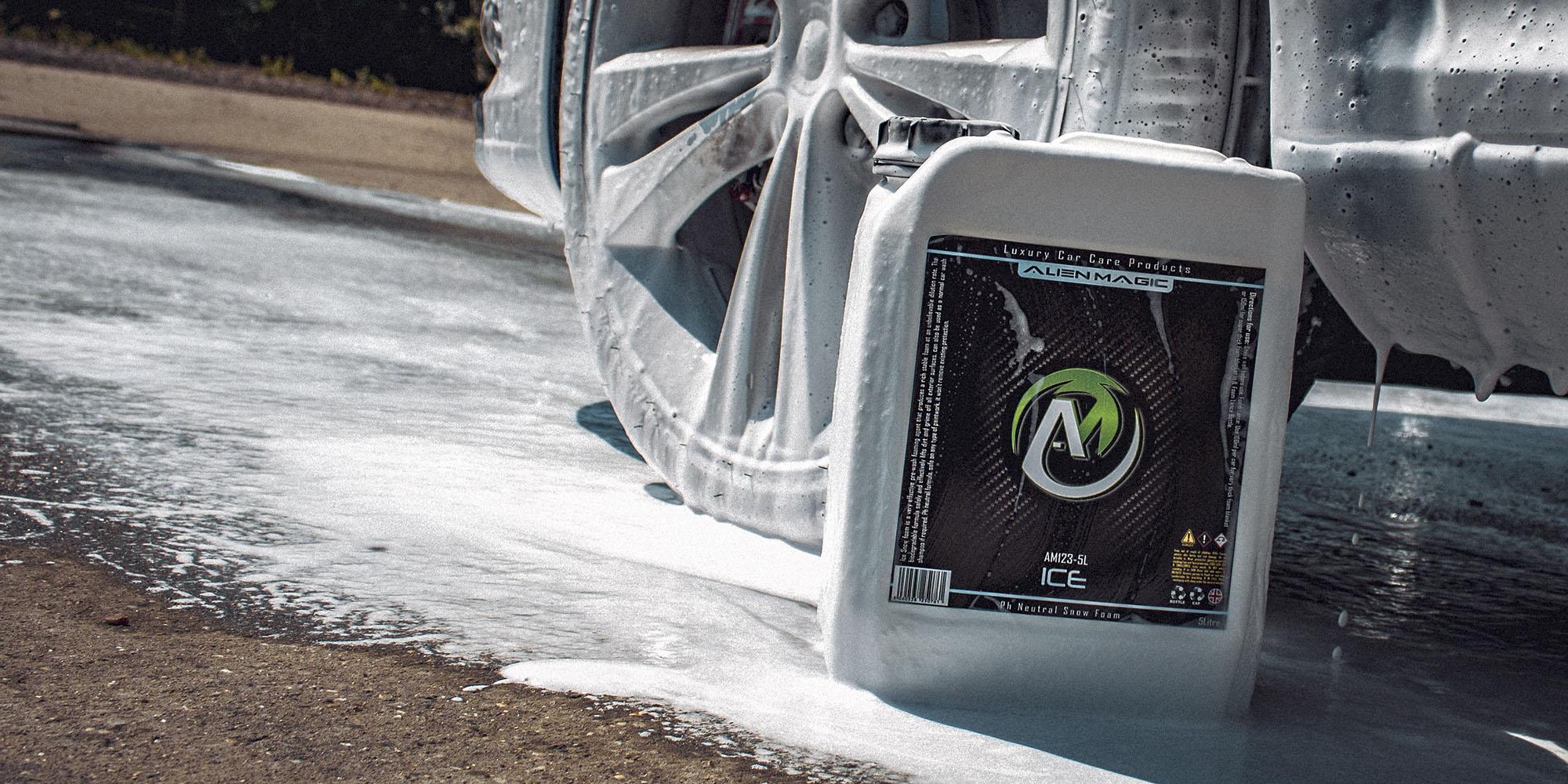 Ice pH neutral Snow Foam Alien Magic Luxembourg